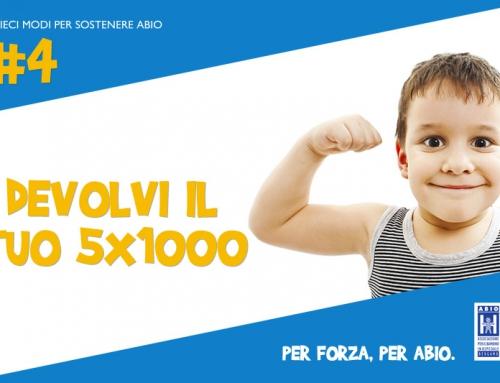 5×1000 per 5000 volontari in tutta italia